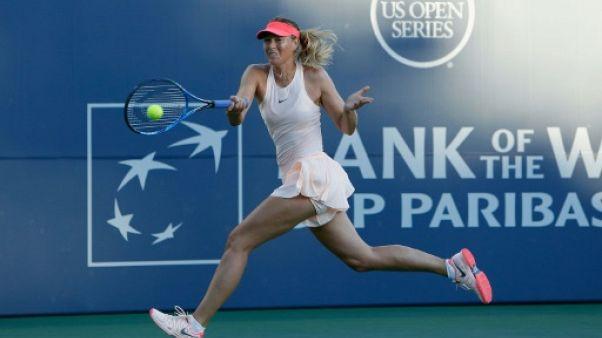 Tennis: Maria Sharapova jette l'éponge à Stanford à cause du bras gauche