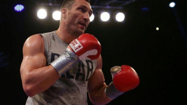 Boxe:  Vladimir Klitschko raccroche les gants