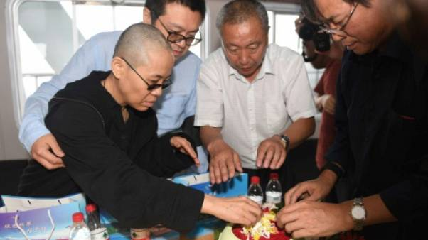 """Plainte à l'ONU pour la """"disparition"""" de la veuve de Liu Xiaobo"""