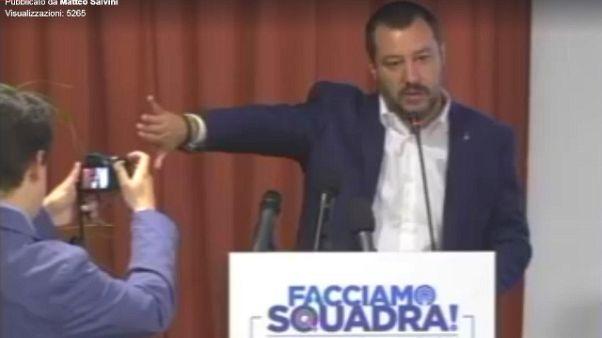 Salvini, Napolitano è da processare