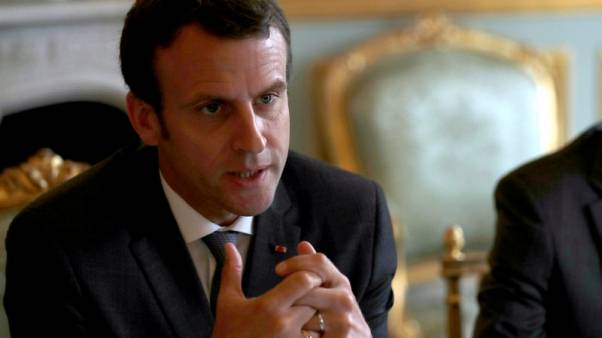 Macron's popularity falls as summer break approaches, poll shows