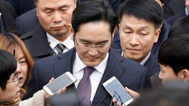 Samsung scion Lee says he did not wield great power at chaebol