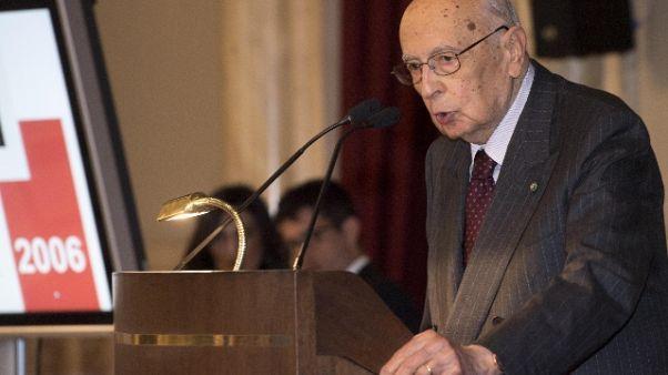 Napolitano: FdI, volle attacco a Libia