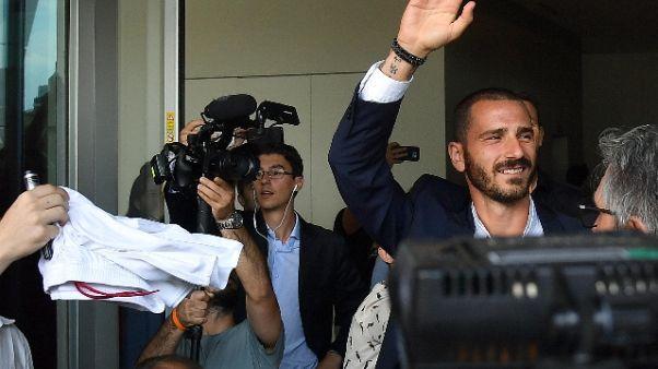 Milan: Bonucci,aiuterò compagni da fuori