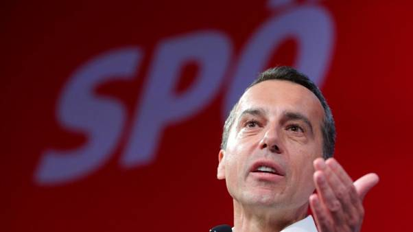 Austrian centre-left goes on offensive to erode conservatives' poll lead