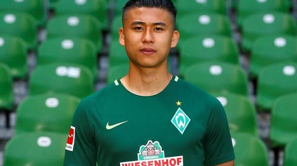 Soccer - I'm not China's new hope, says Werder striker Zhang