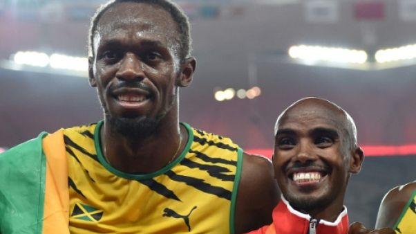 Athlétisme: Bolt et Farah, ouverture royale