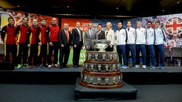 Coupe Davis: pas de révolution, les simples restent à trois sets gagnants