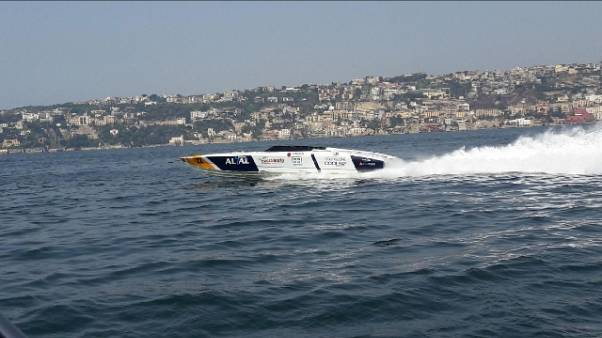 Motonautica: Napoli-Capri, record Al&Al