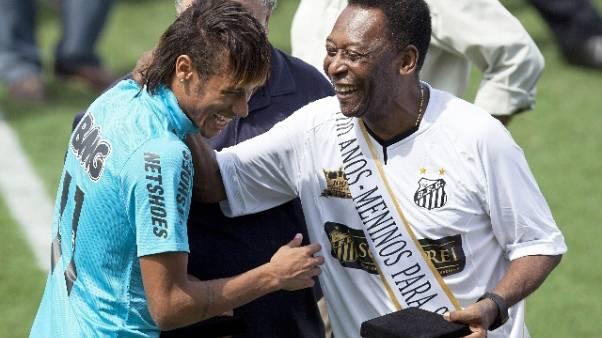 Neymar: Pelè 'auguri per questa sfida'