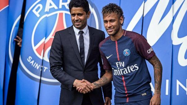 Neymar, Al Khelaifi 'rispettiamo regole'