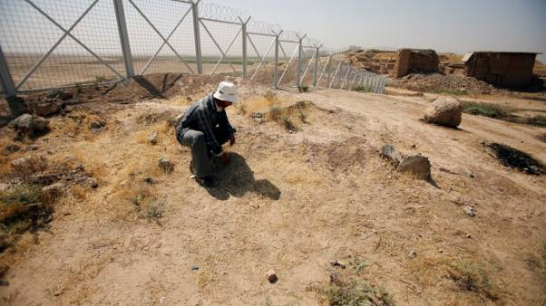 In the ruins of an Iraqi city, memories of Agatha Christie