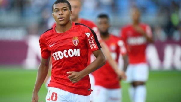 Monaco: Mbappé, Sidibé et Moutinho titulaires contre Toulouse