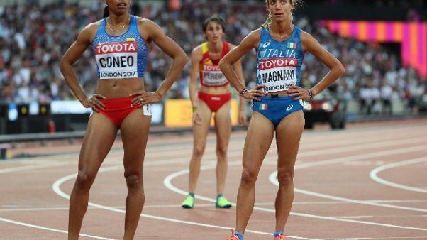 Mondiali atletica, Magnani eliminata