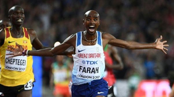 Athlétisme: la magie Farah