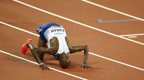 Athletics - Brilliant Farah wins 10,000 metres