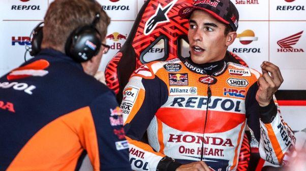 MotoGp: R.Ceca, a Marquez le 3/e libere