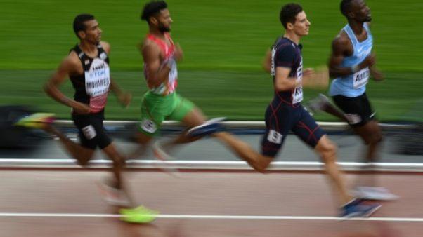 Athlétisme: Bosse qualifié pour les demi-finales sur 800 m