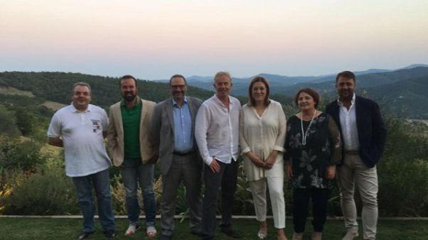 Vacanza in Umbria per Tony Blair