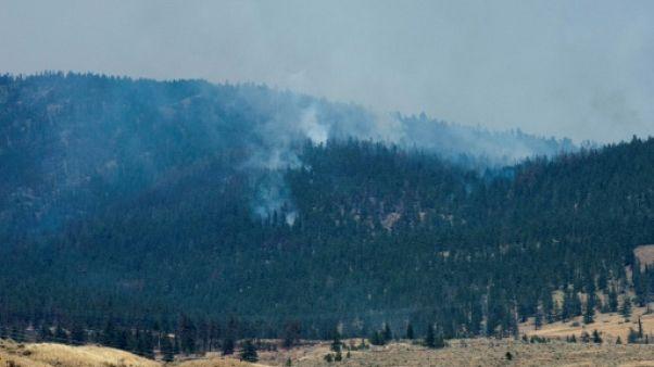 Feux de forêt au Canada: état d'urgence prolongé en Colombie Britannique