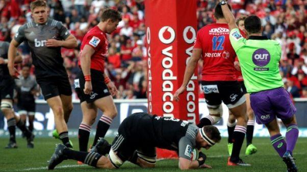 Super Rugby: les Crusaders de retour au sommet, neuf ans après