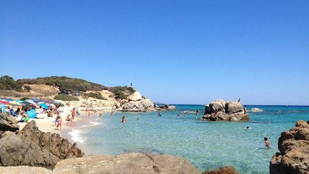 Caldo:sempre record in Sardegna,43 gradi