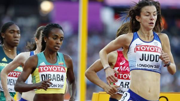 Dibaba squeezes into 1500m final, Kipyegon fastest