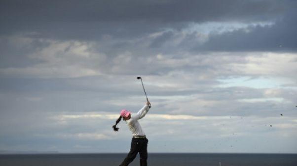 Golf: Kim accentue son avance en tête du British Open