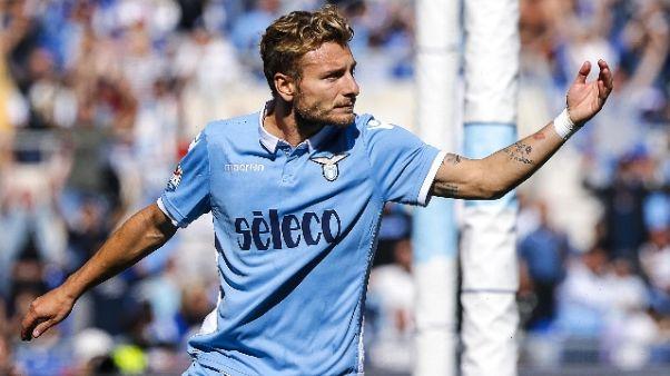 Ancora gol Immobile,Lazio vince a Malaga