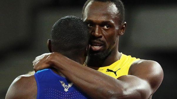 Atletica: Bolt battuto, oro 100 a Gatlin