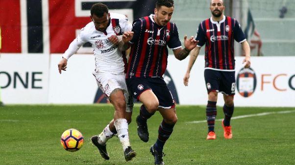 Amichevole Crotone-Cagliari 2-2