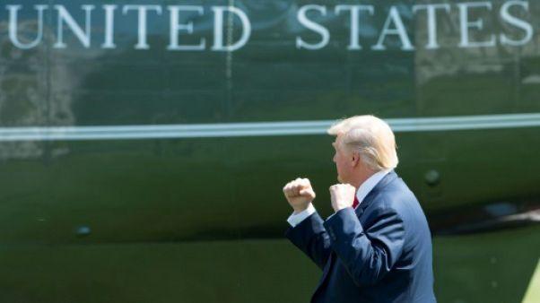 Donald Trump mobilise sa base pour tenter de protéger sa présidence