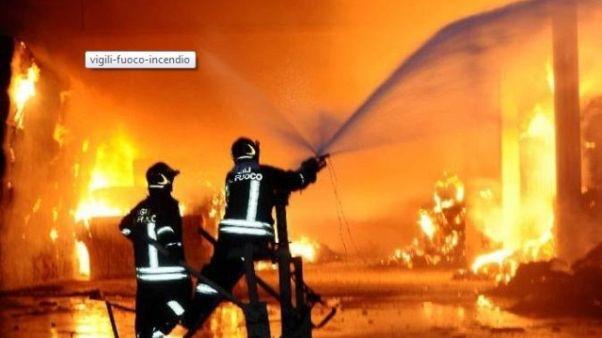 Esplode cabina gas acciaieria Riva
