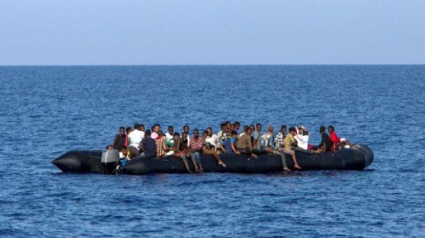 Libye: 137 migrants secourus au large des côtes