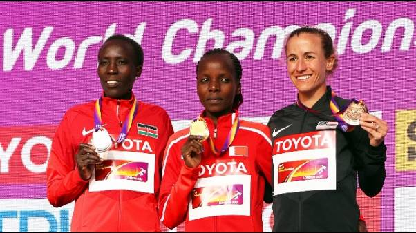 Atletica:Mondiali,Chelimo vince maratona
