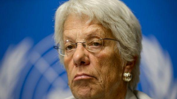 """Syrie: """"Frustrée"""", Carla Del Ponte quitte la Commission d'enquête de l'ONU"""