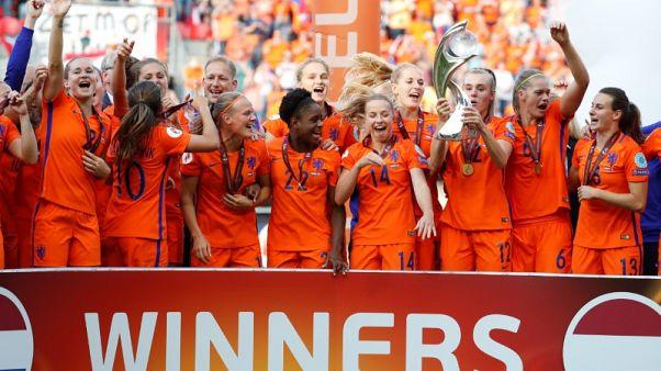 Dutch beat Denmark to win women's Euro title