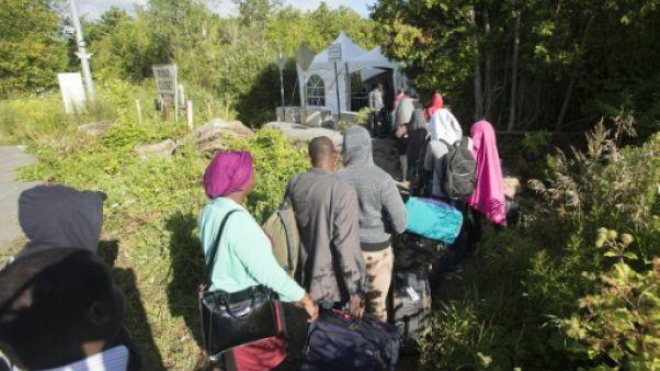 Canada: le flot de migrants haïtiens ne tarit pas