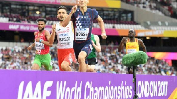 Athlétisme: Pierre-Ambroise Bosse passe en finale du 800 m
