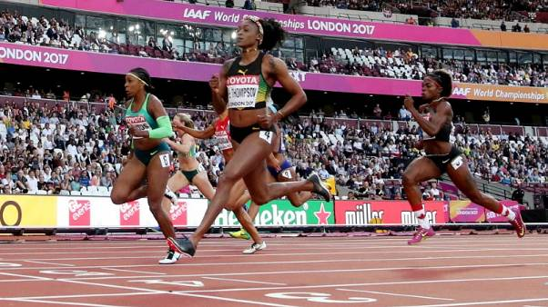Ivorian duo join Thompson in 100 metres final