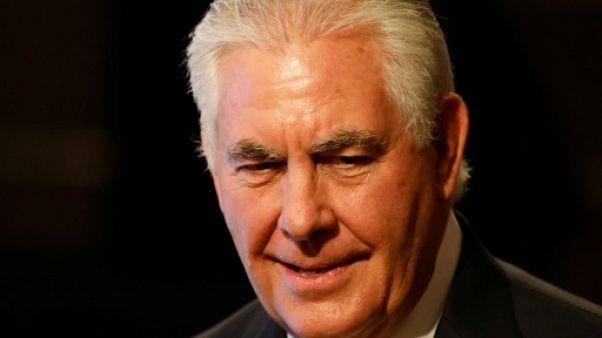 Tillerson demande l'arrêt des tirs de missiles avant un dialogue avec Pyongyang