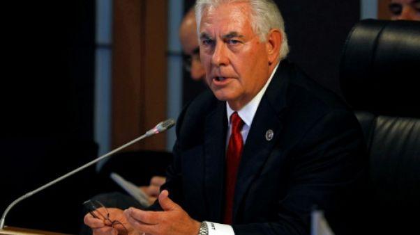 """Afghanistan: Trump pose des questions """"difficiles"""", selon Tillerson"""