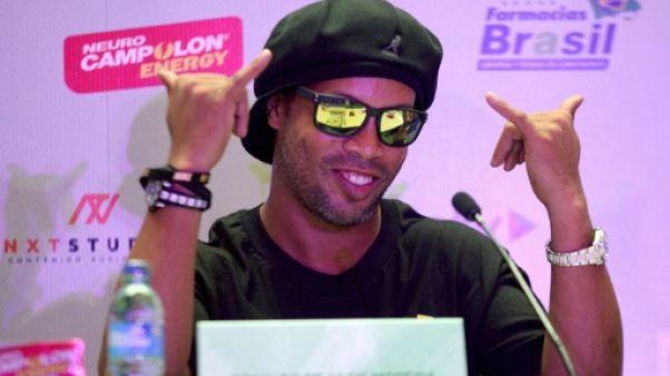 """Ronaldinho à propos de Neymar: """"l'important est qu'il soit heureux"""""""