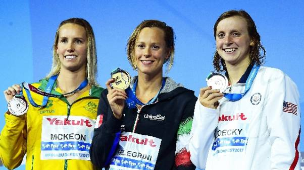 Energy for Swim, stelle del nuoto a Roma