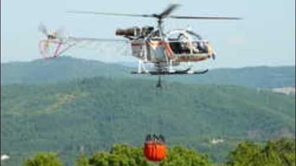 Fiamme nel Mugello, 17 turisti evacuati