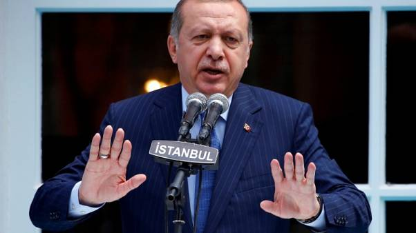 After military shake-up, Erdogan says Turkey to tackle Kurds in Syria