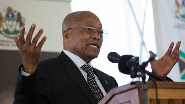 South Africa's parliament Speaker allows secret ballot in Zuma no-confidence vote
