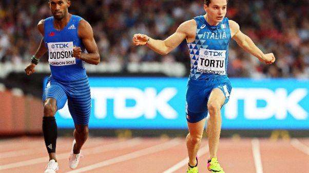 Mondiali atletica, Tortu in semifinale