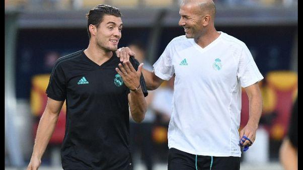 Zidane boccia scambio Kovacic-Dybala