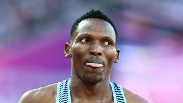 """Athlétisme: forfait de Makwala pour """"raison médicale"""" lors des séries du 200 m aux Mondiaux"""